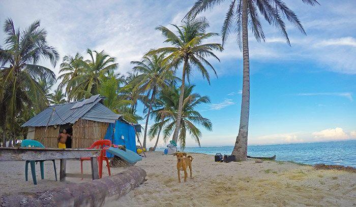 alojamiento barato en San Blas Panamá