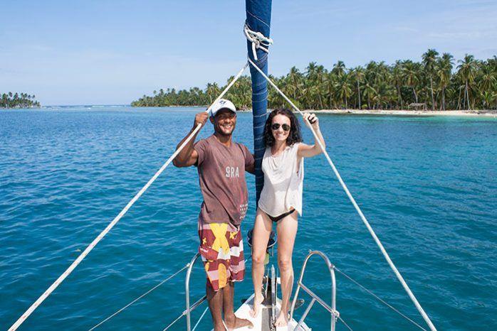 De Colombia a Panamá en barco