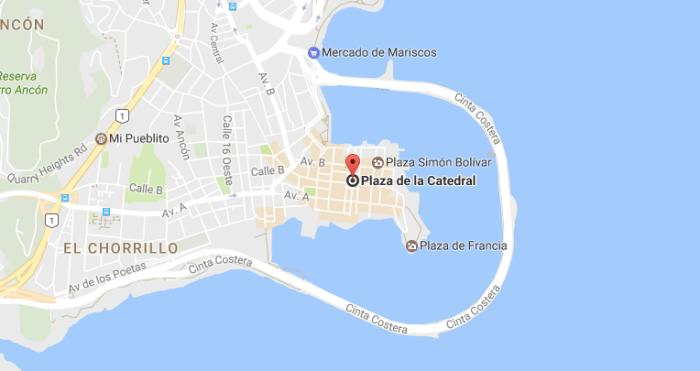 qué ver y qué hacer en Panama city - Ciudad de Panamá qué ver mapa
