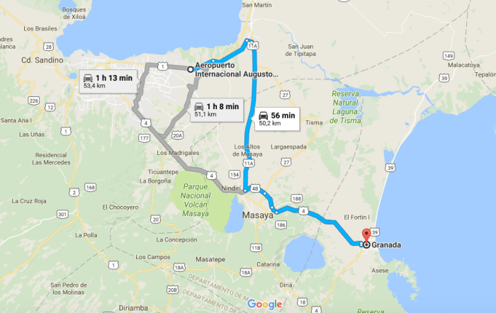 De Managua a Granada - qué ver en Granada Nicaragua