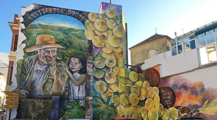 Murales en Montilla