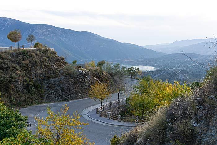 Ruta en coche por la Alpujarra Granadina