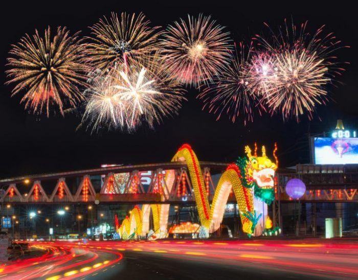 celebraciones del año nuevo