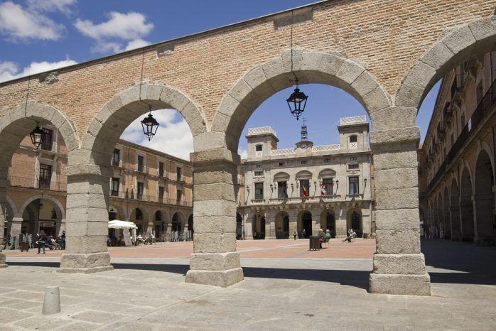 Plaza del Mercado Chico - Qué ver en Ávila