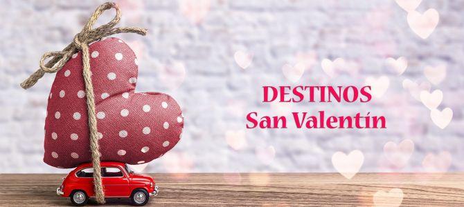 4+1 destinos para San Valentín