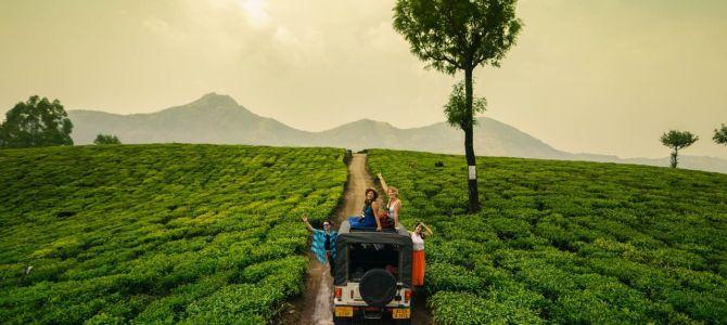 Munnar y sus plantaciones de té