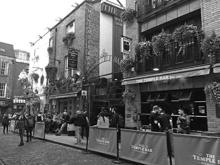 Calles del Temple Bar
