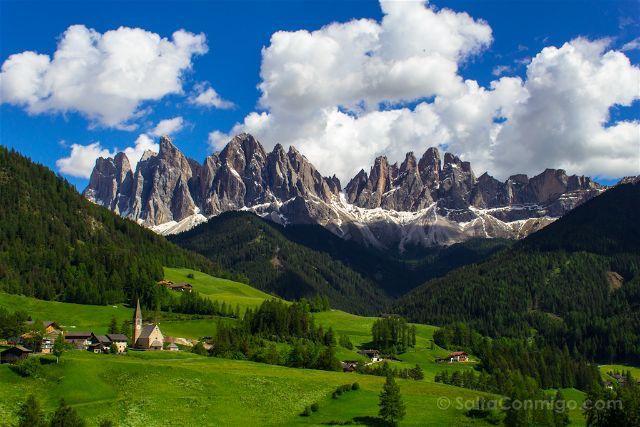 Dolomitas - destinos perfectos para este verano