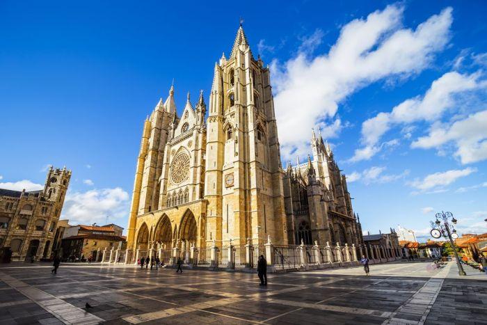 Catedral de León, Castilla y León, España