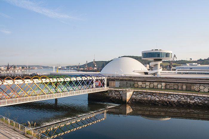 El complejo Niemeyer en Avilés