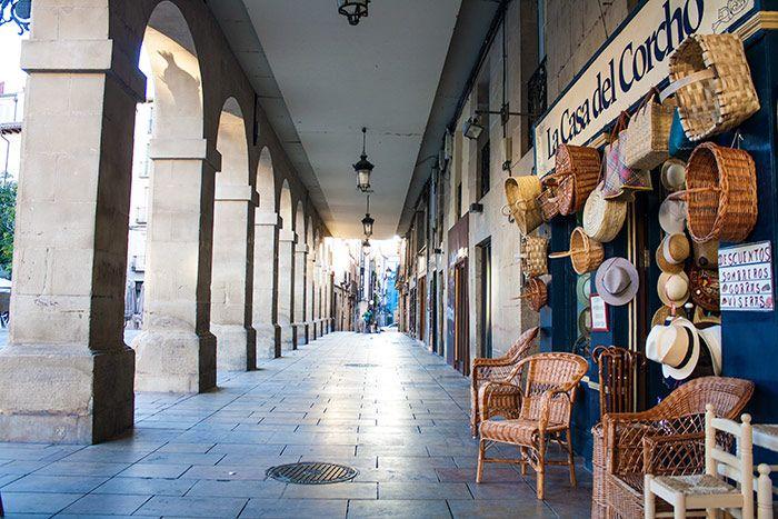 Callecitas porticadas Qué ver en Logroño - La Rioja