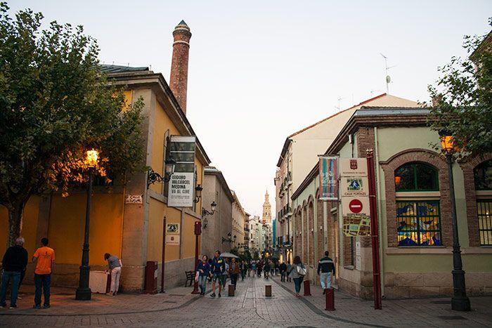 calles bonitas de Logroño