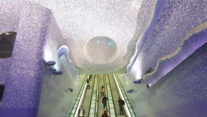 Estación de metro Toledo