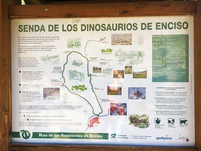 Qué ver en La Rioja - ruta de los dinosaurios en Enciso