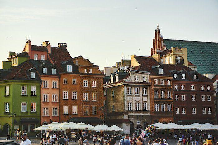 hoteles en Varsovia