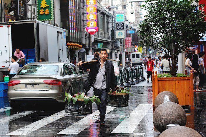 Calles de Shanghái China