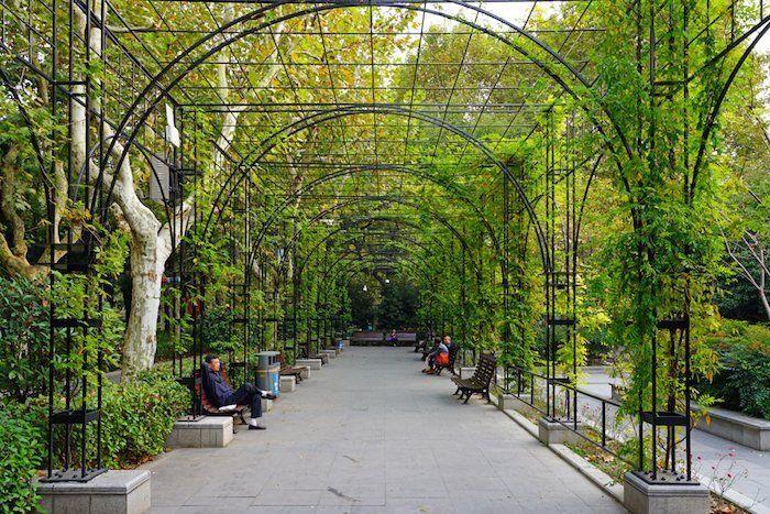 Parque Fuxing es otro básico que ver en Shanghái