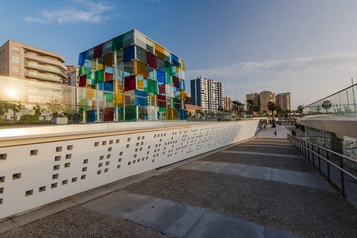 El cubo - Pompidou