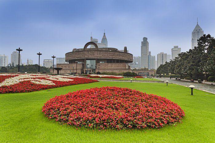 People's Square es uno de los sitios qué ver en Shanghái China