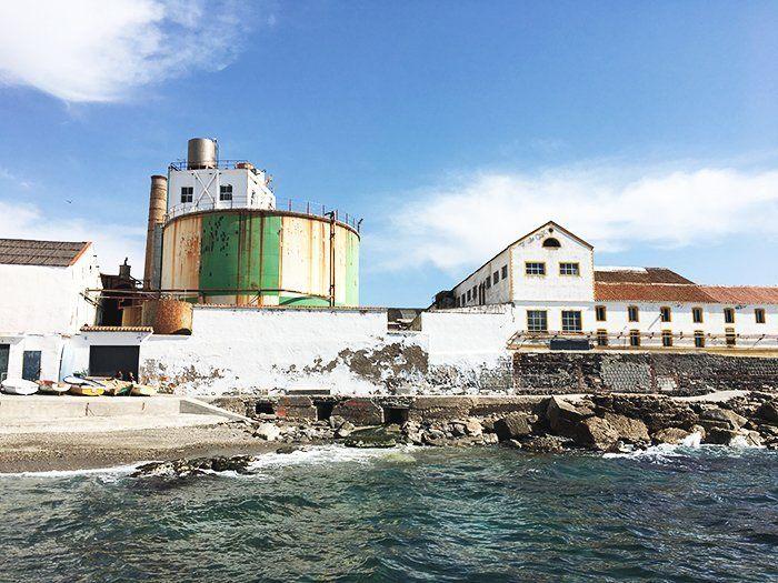 Fábrica azucarera en Salobreña, Costa Tropical de Granada, Andalucía, España, Europa
