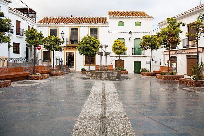Plazas con encanto que ver en Salobreña Costa Tropical de Granada, Andalucía, España, Europa
