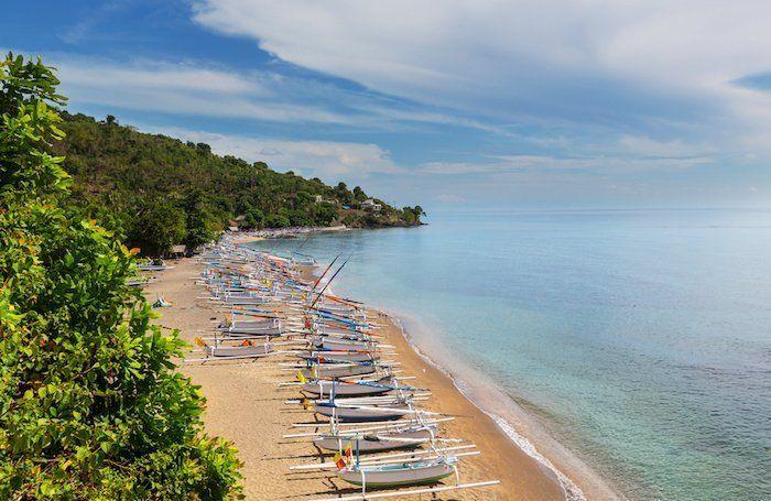 mejores playas del este de bali