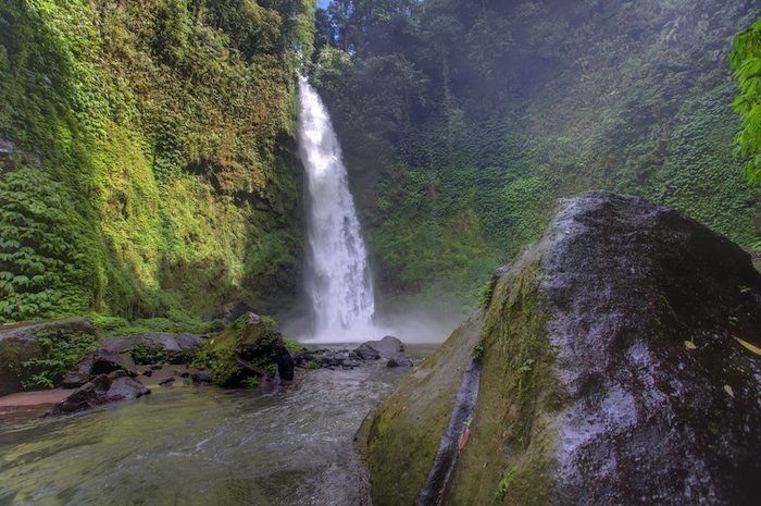 cascadas a Ubud