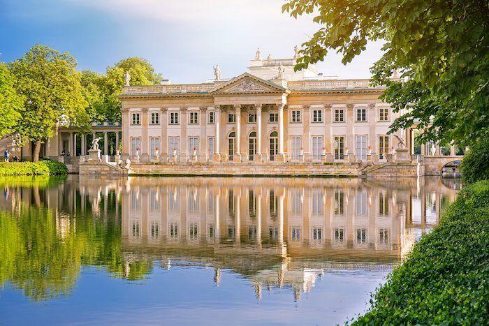 Parque y Palacio Lazienki Varsovia