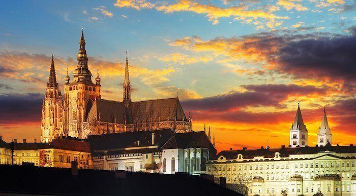 Visitar el castillo de Praga