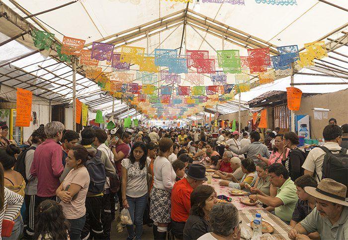 feria de las catrinas en capula michoacan mexico