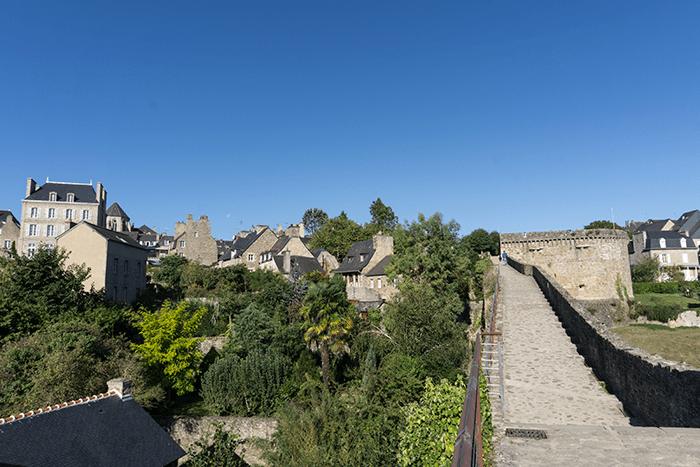 murallas de Dinan Bretaña Francia