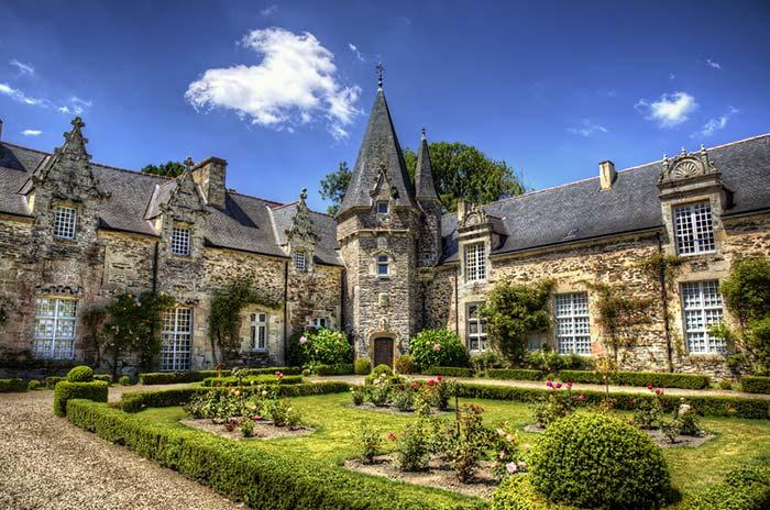 Castillo en la Bretaña Francesa