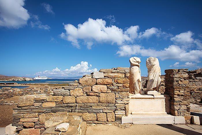 Isla Delos Grecia