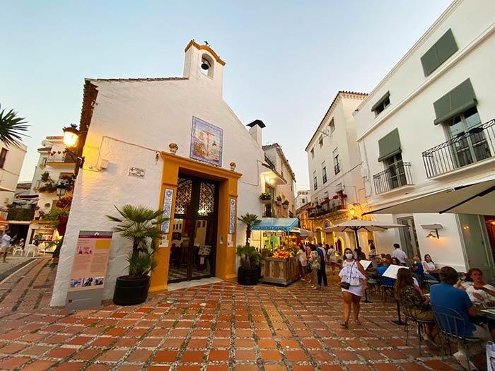 Iglesia en el centro histórico de Marbella