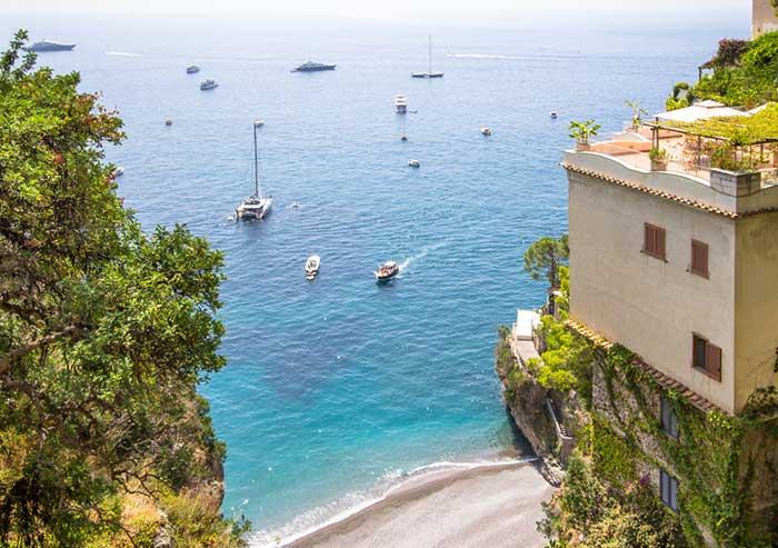Playas de la Costa Amalfitana