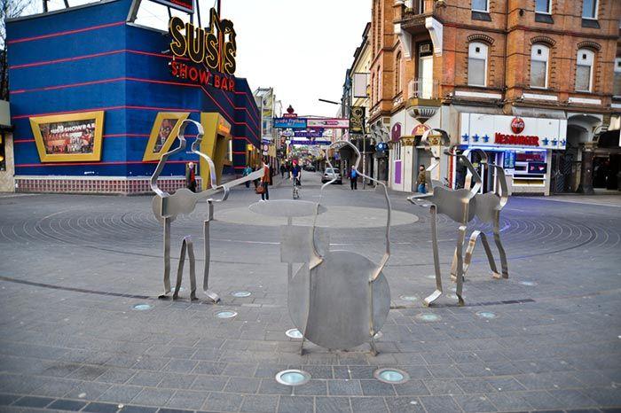 Plaza de los Beatles en Alemania