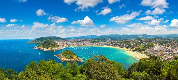qué ver en San Sebastián en un fin de semana: la playa de la concha