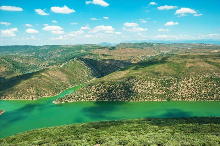 Parque Nacional de Monfragüe - Extremadura - España en verano