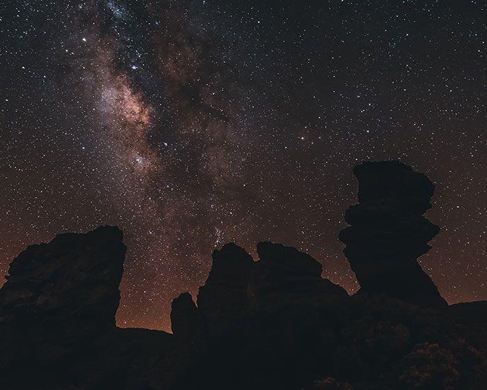 Las islas Canarias, en especial Tenerife, es otro destino Starlight