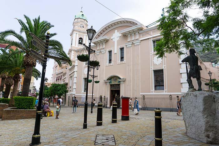 Centro histórico de Gibraltar