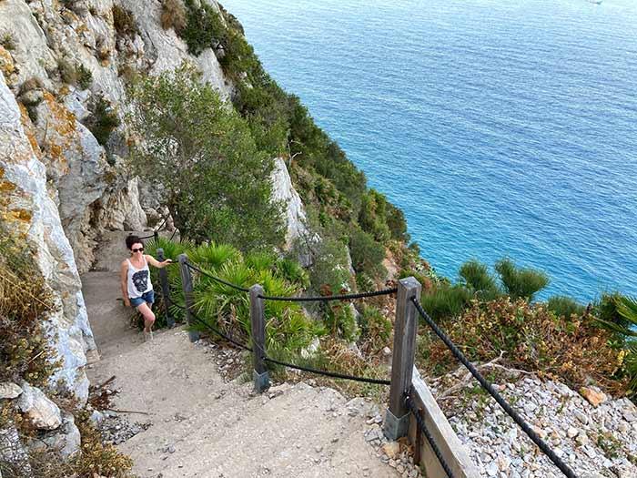 Mediterranean Steps, un imprescindible que hacer en Gibraltar