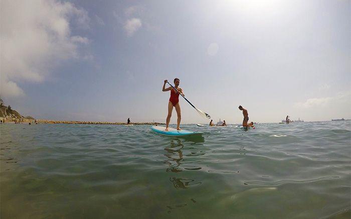 Paddle surf en Sandy Bay