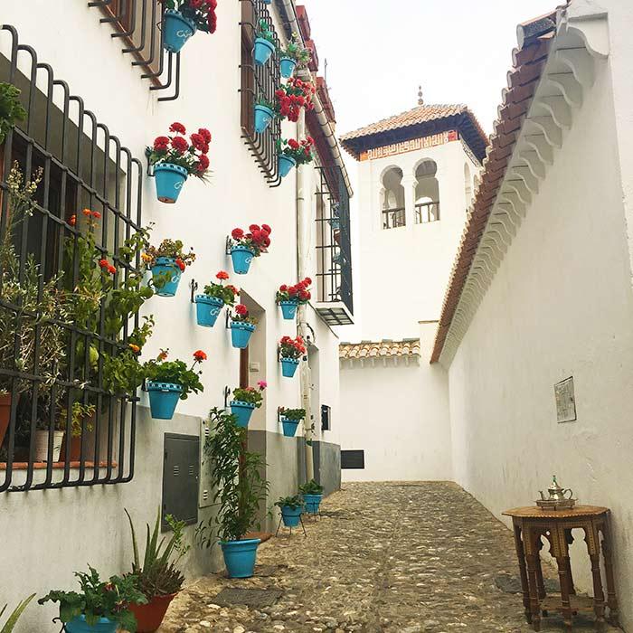 Calles del Albaicín, Granada