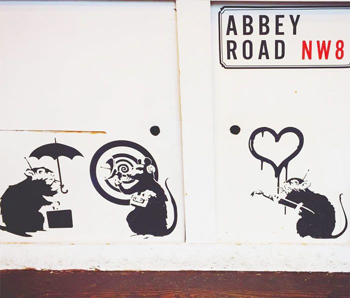 Grafiti de Abbey Road, Londres