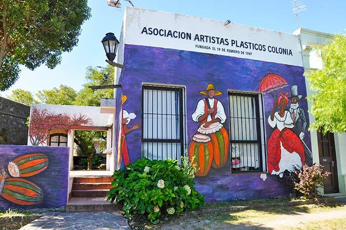 Galerías de arte en Colonia, Uruguay