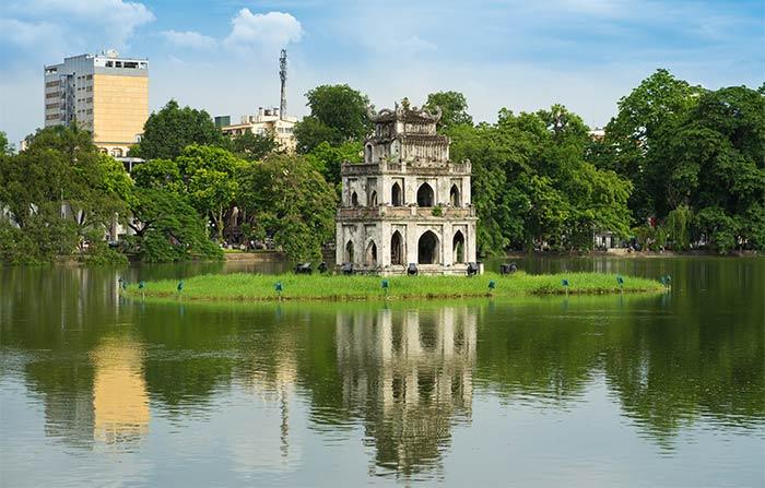 Lago Hoan Kiem Hanoi