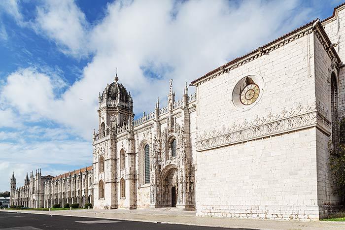 Monasterio de los Jerónimos, Barrio de Belem, Portugal