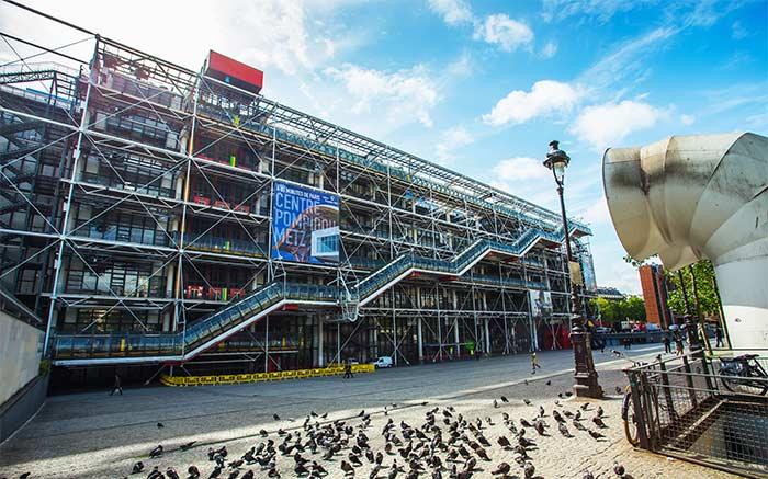 Centro Pompidou Museos París