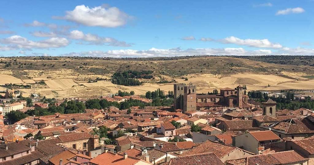 Vistas de Siguenza desde la azotea del Castillo