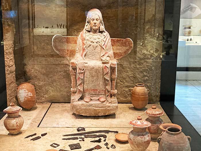 La Dama de Baza, Museo Arqueológico en Madrid